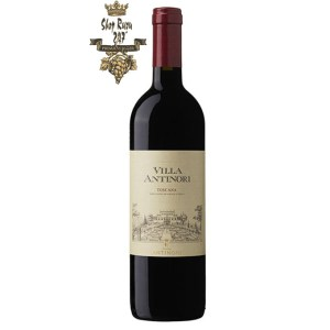 Rượu Vang Đỏ Antinori Villa Antinori Toscana IGT có mầu đỏ ruby đậm. Hương thơm dữ dội và phức tạp đặc trưng của nốt hương trái cây mầu đỏ kết hợp
