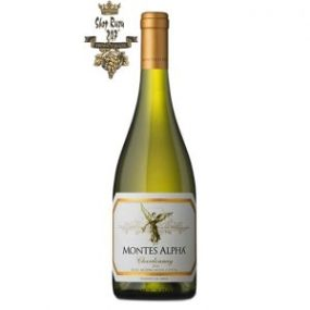 Rượu Vang Chile Trắng Montes Alpha Chardonnay có mầu vàng nhạt trung bình. Hương vị trái cây nhiệt đới như dứa, chuối và xoài chín
