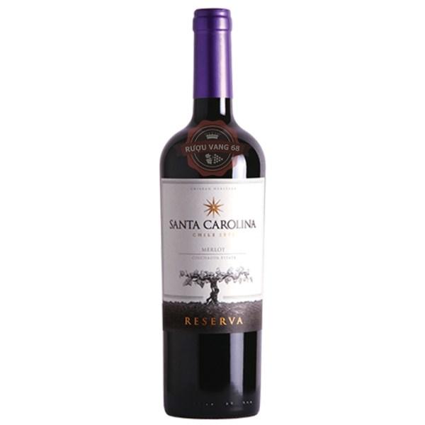 Rượu Vang Chile SANTA CAROLINA Reserva Merlot