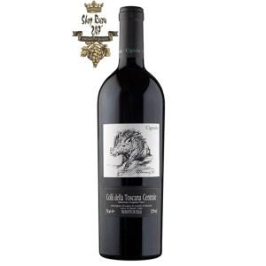 Rượu Vang Ý Castello di Querceto Cignale có mầu đỏ hồng ngọc. Hương thơm của các loại trái cây mầu đỏ đặc trưng. Tannin mượt mà và cân bằng cùng cấu trúc