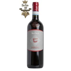 Rượu Vang Ý Đỏ Antinori Sabazio Rosso di Montepulciano DOC là một loại rượu vang đỏ của Montepulciano đại diện cho khu đất La Braccesca . Nó có chứng nhận DOC