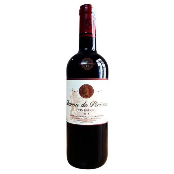 Rượu Vang Pháp Baron De Perissac Rouge