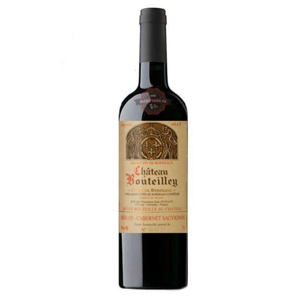 Rượu vang Pháp Château Bouteilley Premieres Cotes de Bordeaux 1.5 L