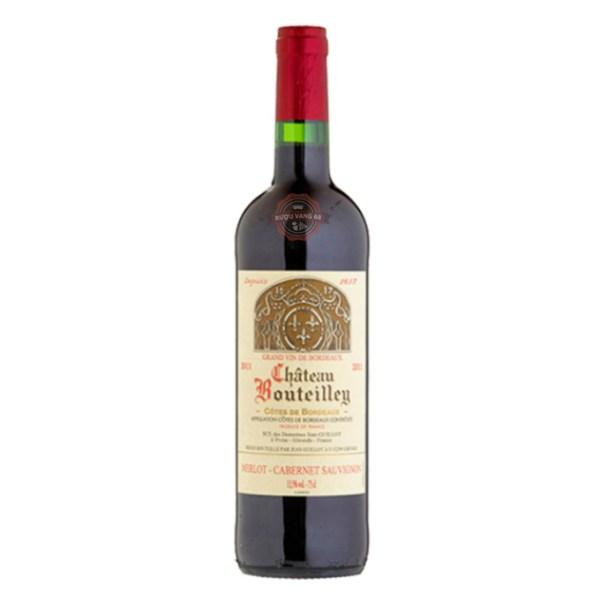 Rượu Vang Pháp Chateau Bouteilley Premieres Cotes de Bordeaux