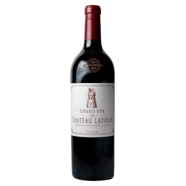 Rượu Vang Pháp Chateau Latour Grand Vin 2011
