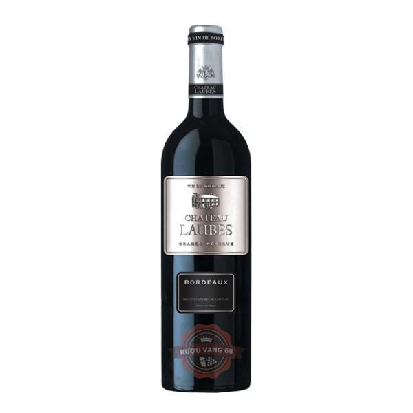 Rượu Vang Pháp Chateau Laubes Bordeaux
