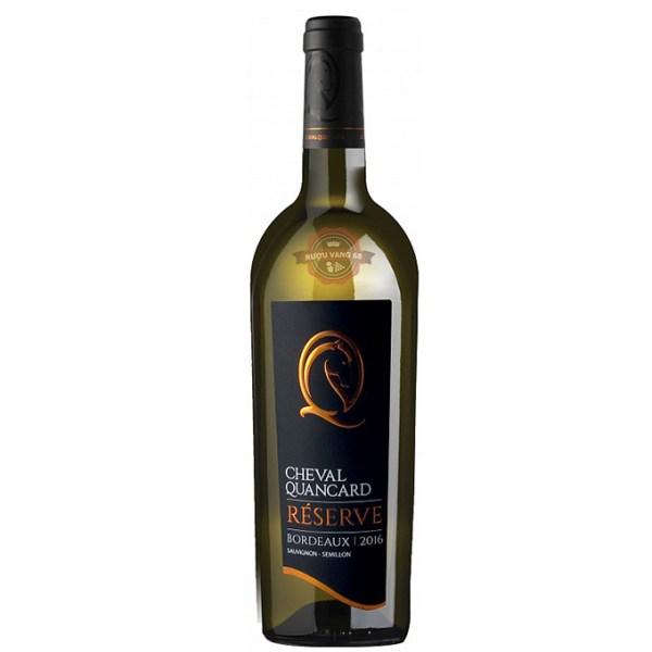 Rượu Vang Pháp Cheval Quancard Reserve Sauvignon Semillon