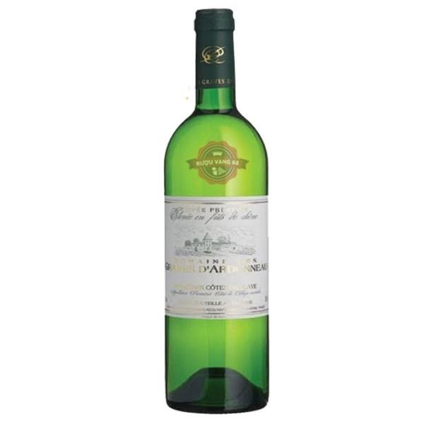 Rượu vang Pháp Domaine des Graves d'Ardonneau Cotes de Blaye  White