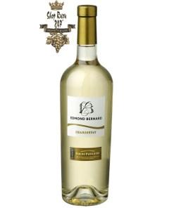 Rượu Vang Trắng Pháp Edmond Bernard Chardonnay có màu vàng rơm tươi sáng. Hương thơm của các loại hoa quả như táo, lê, dứa, cam