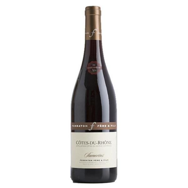 Rượu Vang Pháp Ferraton Cotes du Rhone Samorens Red