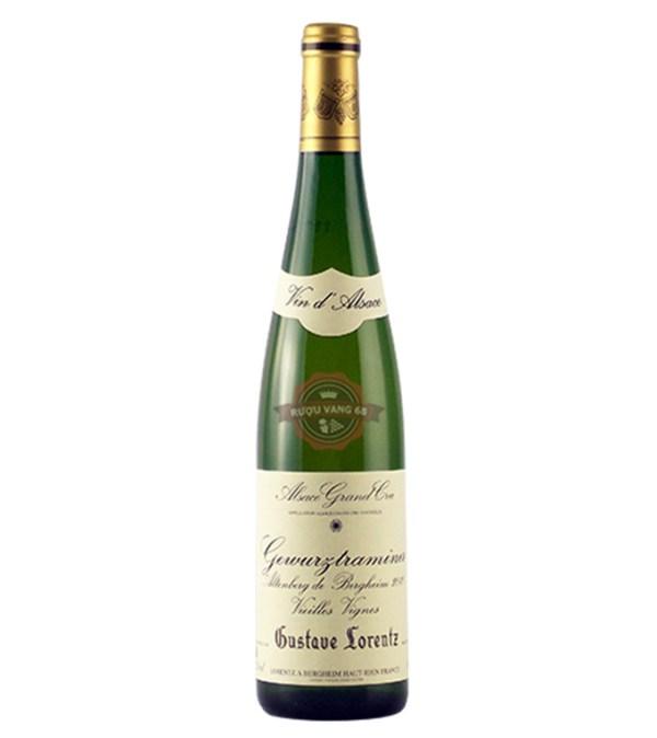 Rượu vang Pháp Gustave Lorentz Riesling Grand Cru Altenberg de Bergheim 2019