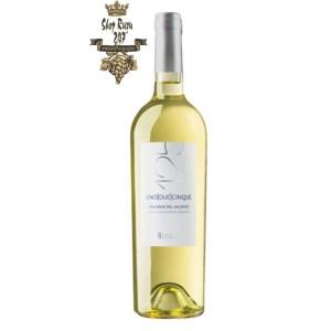 Rượu Vang Ý Trắng 125 Malvasia Del Salento có mầu vàng rơm đậm ánh vàng. Hương thơm của trái cây cùng sự tươi mát và cân bằng cho thấy