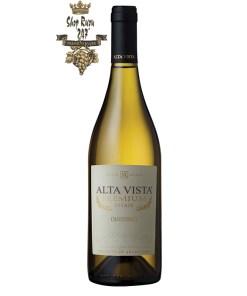 Rượu vang Argentina Alta Vista Premium Chardonnay sở hữu một cấu trúc rượu tuyệt vời cân bằng với vị tannin rõ ràng