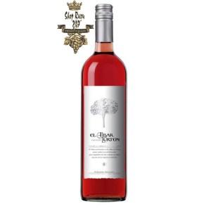 Vang Tây Ban Nha El Albar Lurton Tempranillo Vino Rosado có mầu đỏ cá hồi đẹp mắt. Hương thơm sống động và mãnh liệt