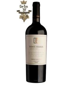 Vang Đỏ Punti Ferrer Gran Reserva Cabernet Sauvignon có mầu sắc ruby đỏ đậm. Rượu có hương thơm phức hợp