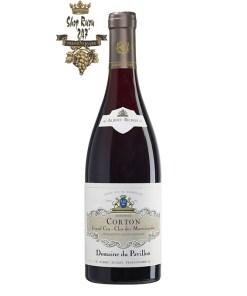 Rượu Vang Đỏ Albert Bichot Corton Grand Cru Clos des Marechaudes Monopole Domaine du Pavillon có mầu đỏ đẹp mắt