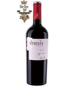 Rượu Vang Đỏ Genesis Reserva Cabernet Sauvignon có màu đỏ ruby đậm, với hương vị phức hợp của hoa quả chín đỏ như anh đào, dâu tây