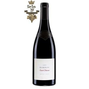Rượu Vang Đỏ Laurent Miquel Bardou Saint Chinian có mầu hồng sẫm. Hương thơm mãnh liệt và hào phóng của các loại hoa cùng hương vị trái cây