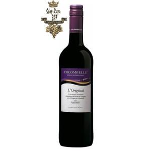 Rượu Vang Đỏ Plaimont Colombelle Cotes de Gascogne Cabernet Sauvignon có màu hồng đẹp mắt. Hương thơm quyến rũ