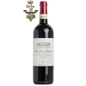 Rượu Vang Ý Đỏ Marchese Antinori Chianti Classico DOCG Riserva là một loại rượu vang tuyệt vời. Được sản xuất thông qua việc mix 90% nho Sangaguese