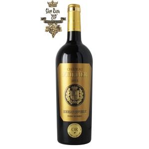 Rượu Vang Đỏ Pháp Chateau Meillier Bordeaux Superieur có nguồn gốc từ cây nho từ 21 năm tuổi, góp phần vào chất lượng của rượu