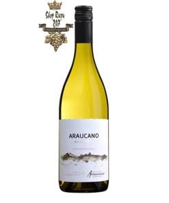 Vang Chile Francois Lurton Hacienda Araucano Reserva Chardonnay có mầu vàng rơm. Hương thơm dữ dội và phức tạp của quả chín như lê