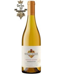 Rượu vang Mỹ Kendall Jackson Vintners Reserve Chardonnay có được một màu vàng sớm đầy sắc nét cùng mùi hương thơm đến từ