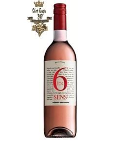 Rượu vang Pháp Gerard Bertrand 6eme Sens Pays d'OC IGP Rosé mang đến một vẻ đẹp nhẹ nhàng hài hòa bởi quá trình trưởng thành trong hầm rượu