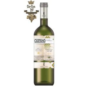 Rượu vang trắng Tây Ban Nha Bodega Castano Yecla DO White toát lên từ hương thơm của những trái cây nhiệt đới, táo và dứa,… chuối