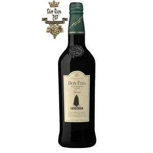 Vang Đỏ Tây Ban Nha Sandeman Dry Don Fino Sherry DO có Màu vàng rơm nhạt, với sắc thái của màu xanh lá cây và vàng