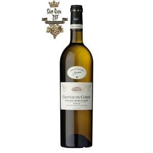 Rượu vang Pháp Château du Cleray Muscadet Sevres & Maine sur Lie với Những trái cây tươi ngon, chín mọng như nho, kiwi, cam, quýt,