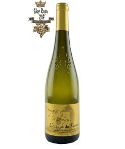 Rượu vang trắng Domaine de Mihoudy Coteaux Du Layon 2019 có Màu vàng vàng, mùi thơm của trái cây kẹo, mật ong, tròn tươi và cân bằng trong miệng