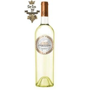 Rượu vang Chile Donum Massenez Premium Assemblage Blanc White 2019 cho cảm nhận về một độ chua vừa phải với một kết thúc lâu dài