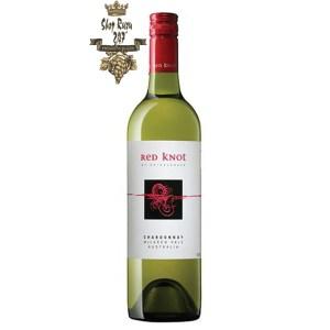Red Knot Chardonnay có mầu vàng rơm tươi sáng. Mùi hương hấp dẫn của đào, sữa đông, chanh, kem làm nổi bật gợi ý về hạt điều, đá phiến