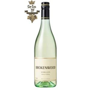 Rượu vang trắng Úc Brokenwood Hunter Valley Semillon White nổi bật lên trên các hương vị trái cây tươi như: nho chín, chanh, cam, quýt