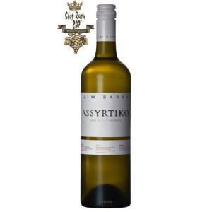 Rượu vang Úc Jim Barry Assyrtiko 2019 có Hương vị chanh và dưa với một chút đá lửa và một cạnh mặn