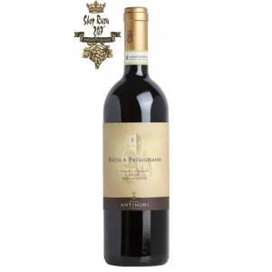 Rượu Vang Ý Đỏ Antinori Badia a Passignano Chianti Classico DOCG có màu đỏ ruby. Trên mũi nó thể hiện hương thơm của trái cây màu đỏ