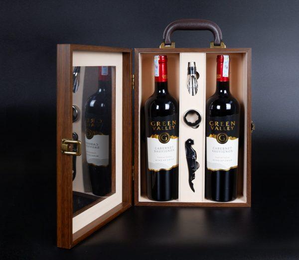 hộp rượu đôi đẹp 2021