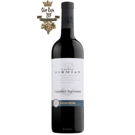 Rượu được làm từ giống nho Cabernet Sauvignongio giống nho Quốc tế chuyên được dùng để sản xuất ra các loại rượu vang đỏ quan trọng nhất trên thế giới. Loại nho này được trồng ở Trentino hơn một thế kỷ.