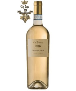 RƯỢU VANG Ý CARUGATE SAN MICHELE SOAVE CLASSICO có màu vàng rơm nhạt. Một bó hoa cỏ tuyệt đẹp, với gợi ý của hoa cúc