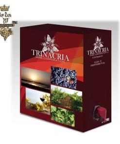 Vang bịch Trinacria Wine Corporation Merlot 2014 1