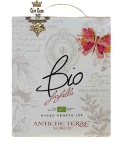 Rượu Vang Bịch Antiche Bio Farfalla Vino Rosso Biologico