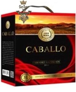 Rượu Vang Bịch CABALLO Cabernet Sauvignon 3L