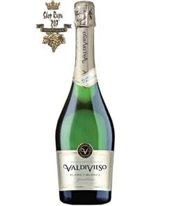 Rượu Vang Nổ Chile Sparkling Valdivieso Blanc de Blancs