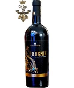 Rượu Vang Ý Đỏ Feudi Salentini Phoenix Primitivo