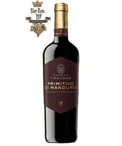 Vang Đỏ Ý Masseria Trajone Black Primitivo DOP
