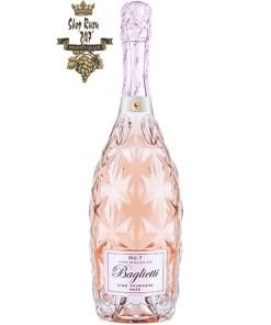 Vang Nổ Baglietti Vino Spumante Rosé No.7 Sparkling