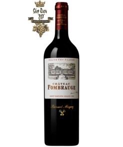 Vang Pháp Château Fombrauge Saint-Émilion Grand Cru Classé 2015 có màu đỏ ruby, có độ bóng và trong. Mũi biểu cảm của sự phức tạp thông thường