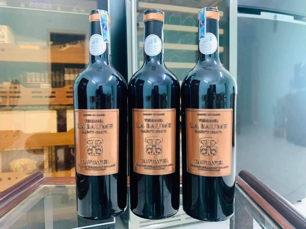 Rượu Vang Pháp Terroir La Baume Saint-Paul Tautavel được làm từ Carignan, Grenache và Syrah. Các vườn nho mà nho đến nằm ở những vùng