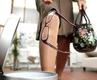 как выбросить очки самостоятельно